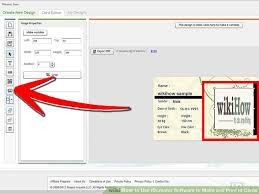 card software how to use idcreator software to make and print id cards 13 steps