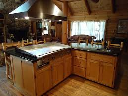 kitchen island grill lodge rental kitchen island in grand lodge large