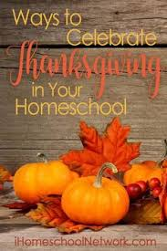 7 ways to celebrate thanksgiving in your homeschool