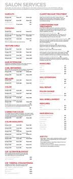 haircut express prices salon price list idea a good guide to start with hair salon