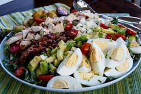 chicken cobb salad with buttermilk chive dressing one family meal