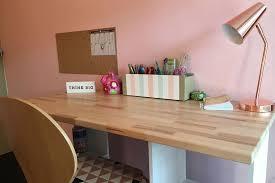 plateau bureau sur mesure bureaux avec plateaux en hêtre découpés sur mesure
