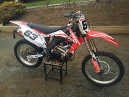 scrub honda graphics decals crf 450r 2005 2008 stickers mx
