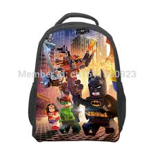 film kartun anak sekolah free shipping lego movie backpack for boys lego school bags kids