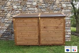 fabrication de coffre en bois chalet u0026 jardin boutique coffre en bois u0026 abri vélos trocadéro
