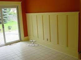Where To Put Wainscoting In The Home How To Install Tall Wainscoting 100 For About 10 33 Ft The Joy