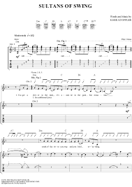 sultan of swing chords sultans of swing sheet for piano and more