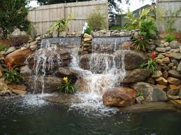 Backyard Waterfall Ideas by 48 Best Waterfall Ideas Images On Pinterest Garden Ideas Back