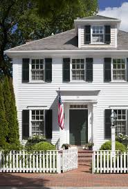 Colonial Style House by Colonial Style House Exuding Calmness By Patrick Ahearn Architect