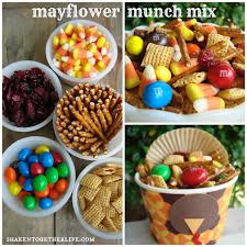 mayflower munch mix an easy thanksgiving snack mix thanksgiving