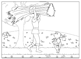 coloring pages pigs 2