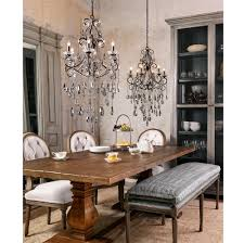 kristiana french country crystal smoke 6 light chandelier kathy