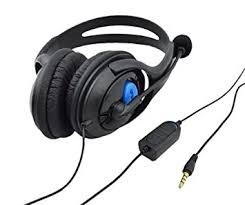 amazon com playstation 4 black amazon com goliton gaming headset w boom mic for playstation 4