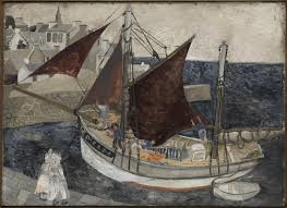 boat in harbour christopher wood 1929 tate