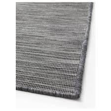 Skin Rugs Ikea Hodde Rug Flatwoven In Outdoor Grey Black 200x300 Cm Ikea