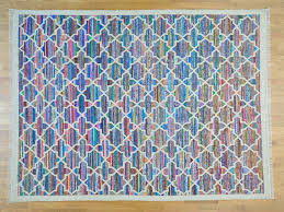 Cotton Weave Rugs 9 U0027 X 12 U0027 Durie Kilim Cotton And Sari Silk Flat Weave Rug Hand