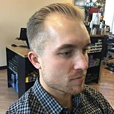 receding hair slicked back 50 smart hairstyles for men with receding hairlines men