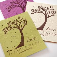 seed paper wedding favors plantable seed wedding favors catalog botanical paperworks