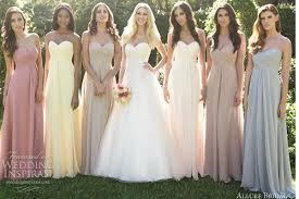 navy blue long chiffon bridesmaid dresses