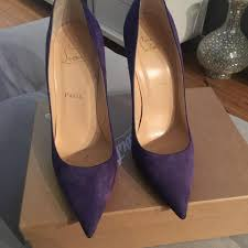 Christian Louboutin So Kate Purple Pumps On Tradesy