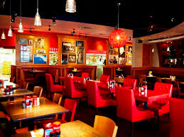 Red Robin Interior Americana Re Imagined Red Robin Restaurants New U0026 Neville Real