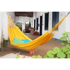 xl brazilian fabric double hammock with fringe hayneedle