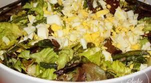 cuisiner la salade verte salade verte aux haricots verts et oeufs la tendresse en cuisine