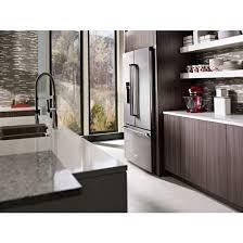 kitchenaid cabinet depth refrigerator kitchenaid krfc704fps 23 8 cu ft 36 counter depth french door