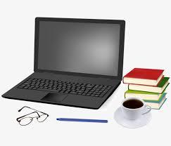 ordinateur portable ou de bureau l ordinateur portable de livres de papeterie de bureau ordinateur