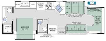 Turbo Floor Plan Floor Plans Four Winds Super C 35sf