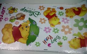 desain kamar winnie the pooh stiker dinding murah shopping land