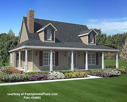 Craftsman Style House Plans With Wrap Around Porch 83 Best House Plans With Porches Images On Pinterest Family Home