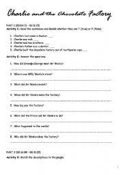 Charles Worksheet Answer Key Teaching Worksheets And The Chocolate Factory