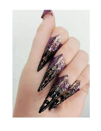 metal claws black and golden metal claws nail claws
