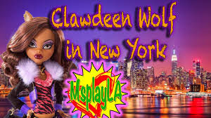Monster High Halloween Wolf Doll by Monster High Doll Clawdeen Wolf Visits New York A Cool Monster