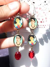 frida earrings 211 best frida kahlo images on frida kahlo paint and