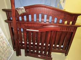 Cherry Baby Cribs by Babi Italia Eastside Lifestyle Cherry Baby Crib With Mattress And