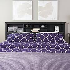 Headboard King Bed Prepac Sonoma Black King Storage Headboard King Bed