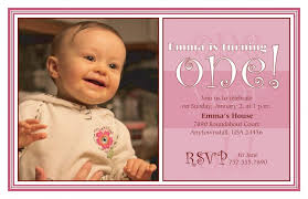 template sophisticated 1st birthday invitation wording for baby