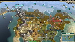 North America Biome Map by Micro Civ Battle Royale Part 1 A Peaceful Beginning Album On