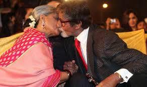 Jaya Bachchan Hot Pics - amitabh jaya bachchan kiss in public have they lost it india com