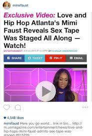 Meme Faust Sex Tape - mimi faust admits sex tape was staged tgi aldieee