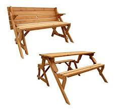 Folding Bench Picnic Table Leisure Season Folding Picnic Table And Bench Solid