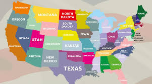 places to live in the usa the of the states infographic
