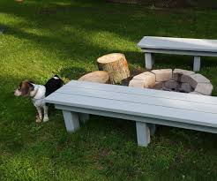 simple sturdy benches 5 steps with pictures