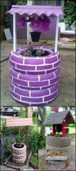 Eco Friendly Garden Ideas Make A Wish In Your Own Garden With This Wishing Well Planter Made