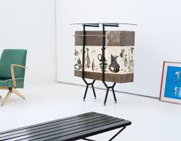 Table Verre Design Italien by Bar Vintage Italien En Verre Et En Fer 1950 Design Market