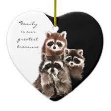 raccoon ornaments keepsake ornaments zazzle