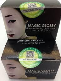 Wajah Magic Glosy manfaat dan khasiat malam magic glossy nah berikut adalah