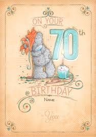 70th Birthday Cards 70th Birthday Cards Personalised Unique Funky Pigeon